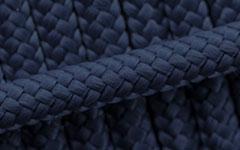 Hundehalsband - Tau - Farbe: Marine Blau