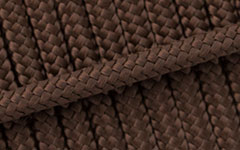 Hundeleine - Tau - Farbe: Braun