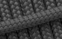 Hundeleine - Tau - Farbe: Grau