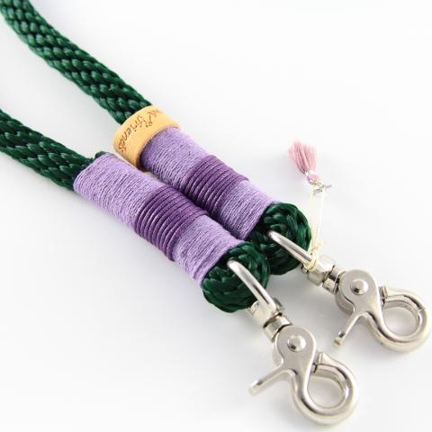 Tauleine-tannengrün-lavendel-lila