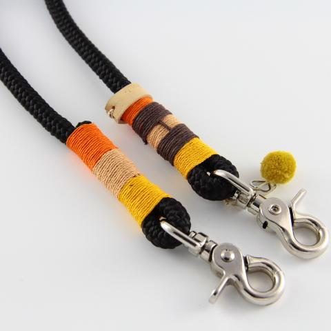 Tauleine-schwarz-gelb-cappucino-orange-braun
