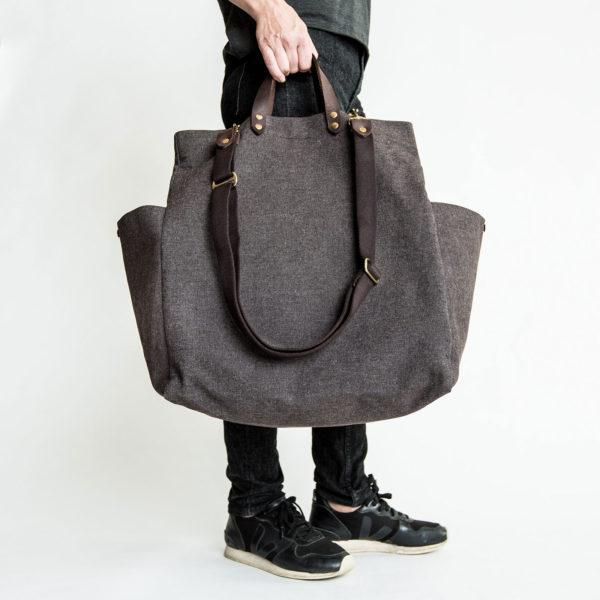 Tasche-Cloud7-All-in-Bag-Braun