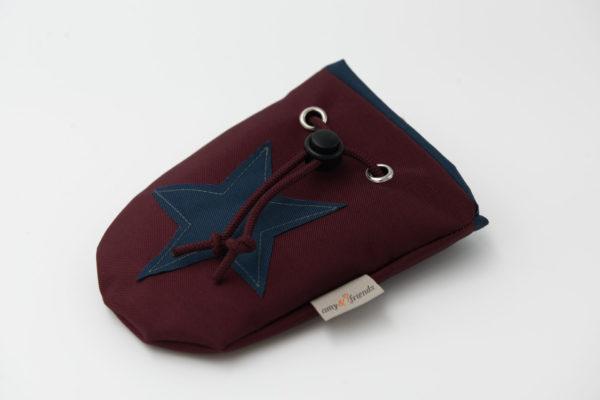 Leckerlibeutel-aubergine-marineblau