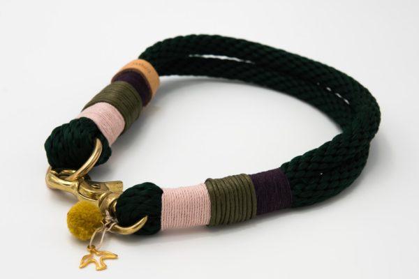 Tauhalsband-tannengrün-powderpink-purple-oliv