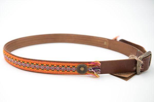 Gürtel-dwam-belt-city-orange-95cm