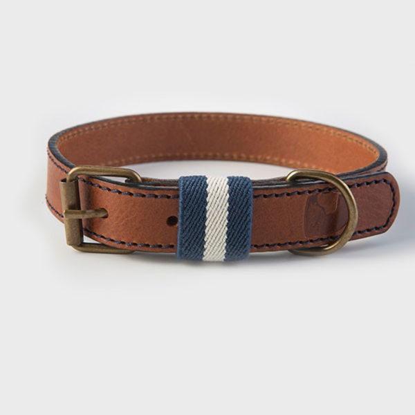 Hundehalsband-buddysdogwear-navy-azul-dog-collar