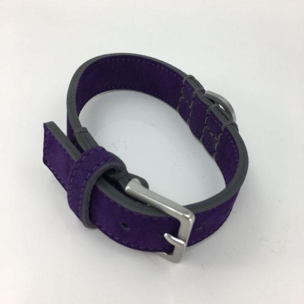 Hundehalsband-schröders-hund-lila