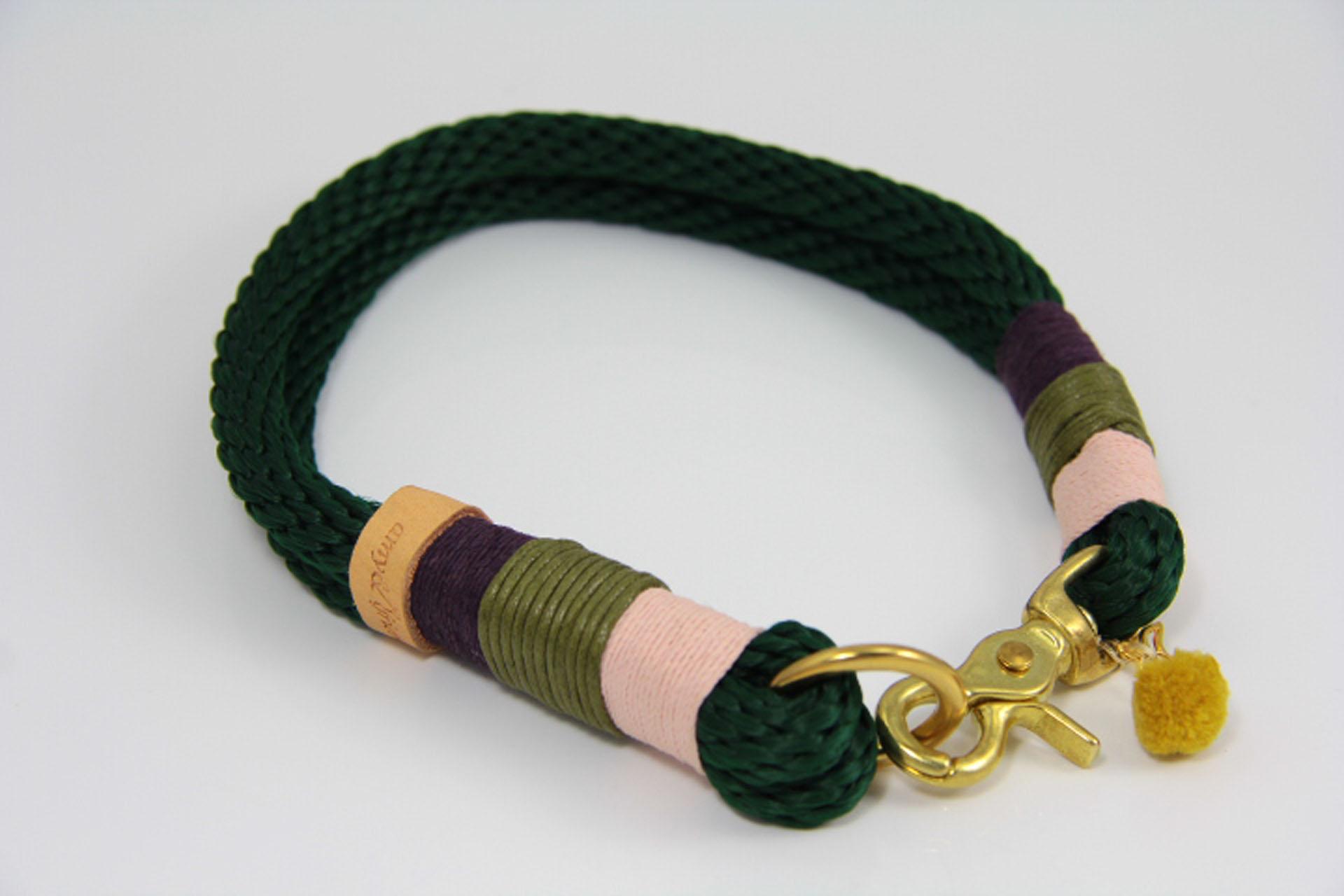 Tauhalsband-amy-and-friends-tannengrün-powder-pink-purple-oliv