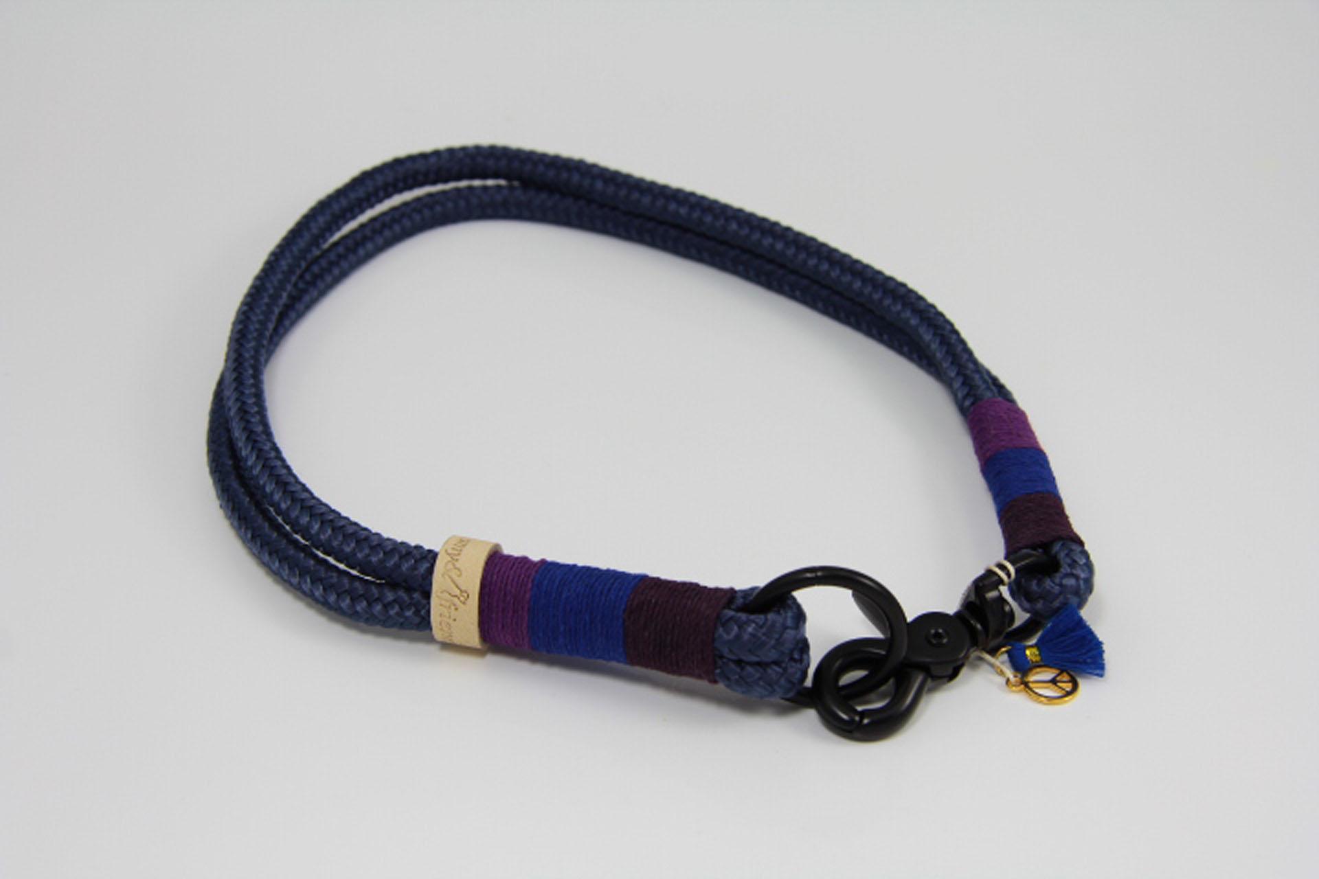Tauhalsband-amy-and-friends-marineblau-plum-dunkelblau-purble