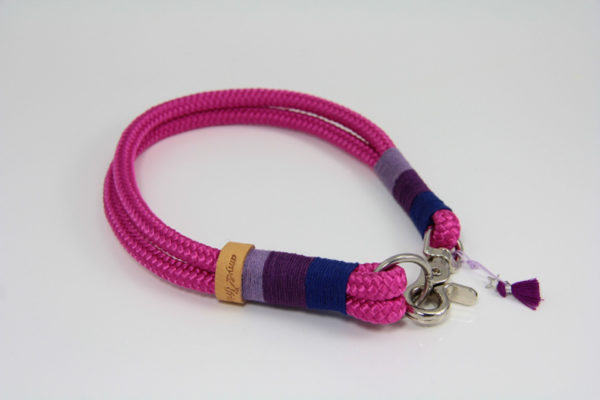 Tauhalsband-amy-and-friends-fuchsia-dunkelblau-purple-lavendel