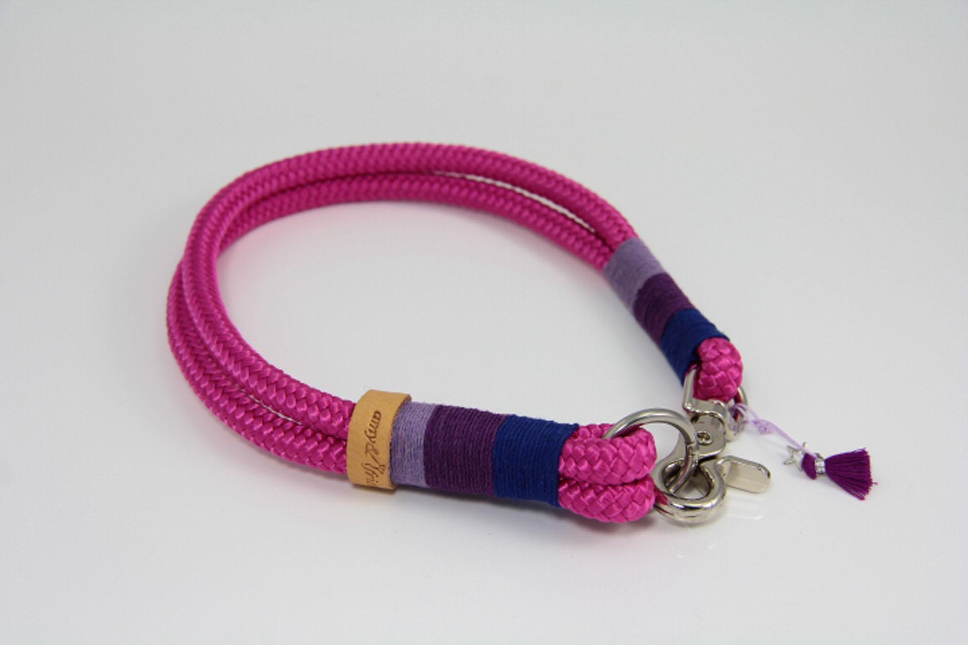Tauhalsband-amy-and-friends-fuchsia-dunkelblau-purple-lavendel