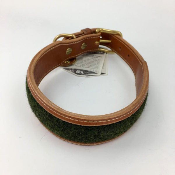 Hundehalsband-oscar-trudie-oliv