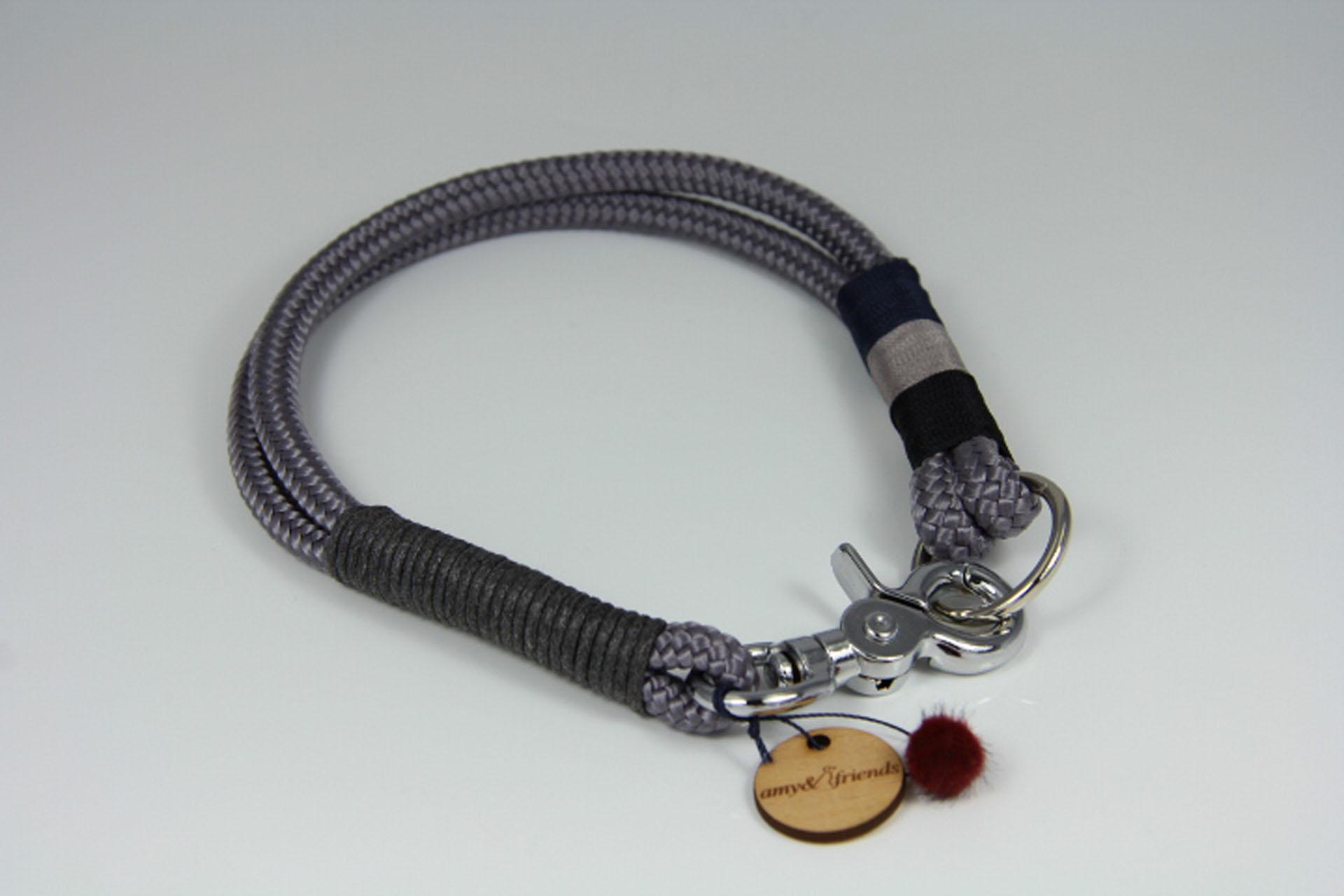 Tauhalsband-amy-and-friends-anthrazit-schwarz-grau-blaugrau