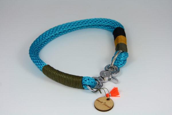 Tauhalsband-amy-and-friends-ozean-blau-oliv-ocker-schwarz