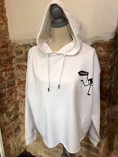 Statement-hoodie-amy-and-friends-weiß