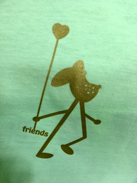 Statement-shirt-amy-and-friends-apfelgrün